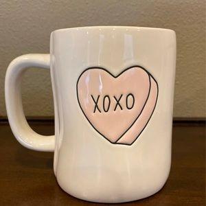 Rae Dunn Double Sided Mug XOXO SWEETHEART